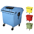 Kontejnery na odpad 660-1100 l