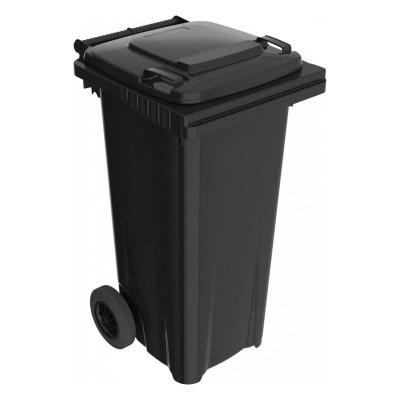 Plastová popelnice 120 l, černá