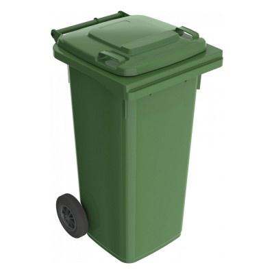 Plastová popelnice 120 l, zelená