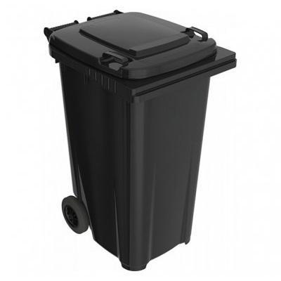 Plastová popelnice 240 l, černá