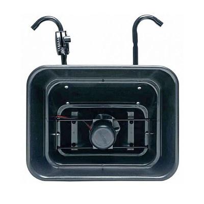 Elektrický sypač na čtyřkolku
