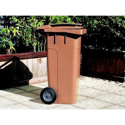 Plastová popelnice na BIO odpad ELKOPLAST 240 l