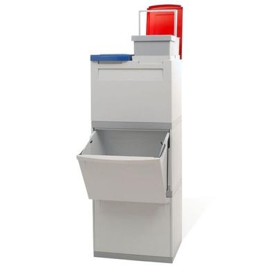 Odpadkový koš na tříděný odpad EKOMODUL 2x30 l + 2x15 l