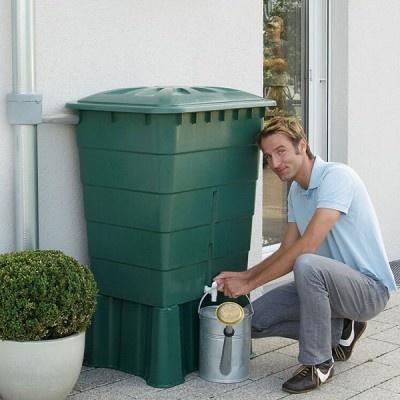 Plastová nádrž na dešťovou vodu RHIN 300-520 l