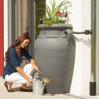 Plastová nádrž na dešťovou vodu VILAINE 260 l WALL