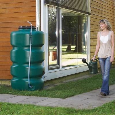 Nádrž na dešťovou vodu GARTENTANK 750 l, zelená