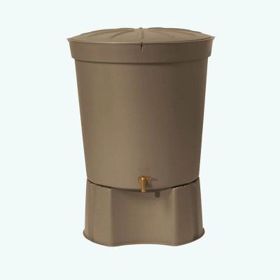 Nádrž na dešťovou vodu ROLL 300 l, taupe