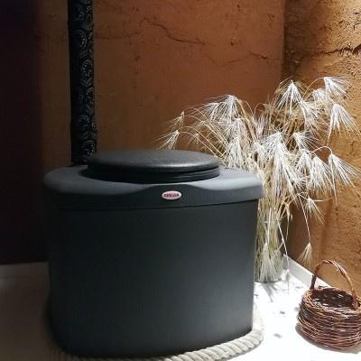 Kompostovací toaleta Eco - hnědá