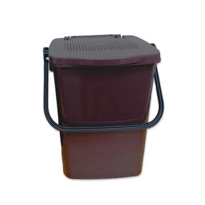 Koš na kuchyňský odpad MINIMAX 10 l s perforovaným víkem