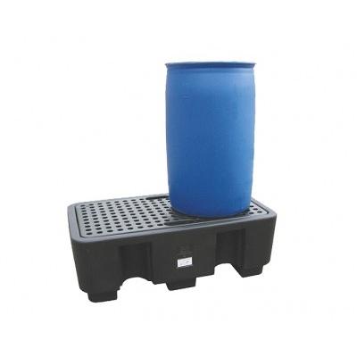 Záchytná vana pod dva 200 l sudy (záchytný objem 250 l)