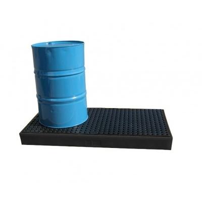 Záchytná plošina pod dva 200 l sudy (záchytný objem 120 l)