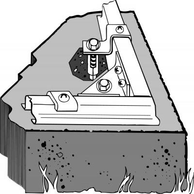 Kotvící sada pro domky ARROW - do betonu