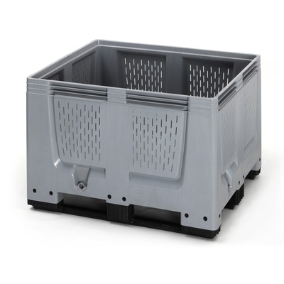 Paletový box 1200x1000x790 perforovaný (BBO 1210), 670 l