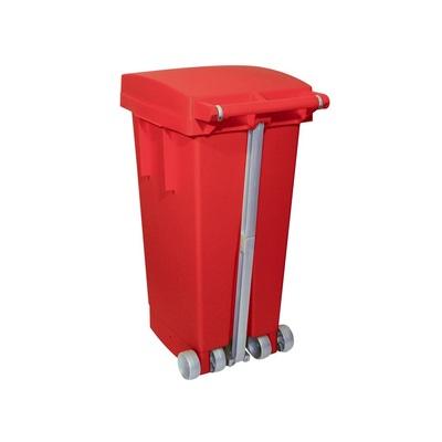 Pedálový odpadkový koš na tříděný odpad BIGTATA 80 l