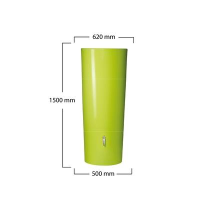 Nádrž na dešťovou vodu Vega 350 l, zelená