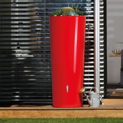 Nádrž na dešťovou vodu Vega 350 l, červená