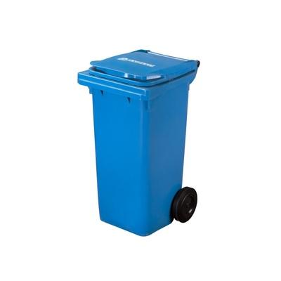 Plastová popelnice ELKOPLAST 120 l, modrá C