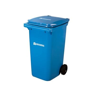 Plastová popelnice ELKOPLAST 240 l, modrá C