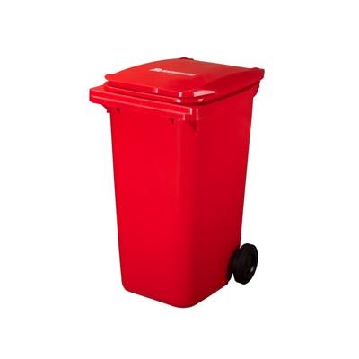 Plastová popelnice ELKOPLAST 240 l, červená C