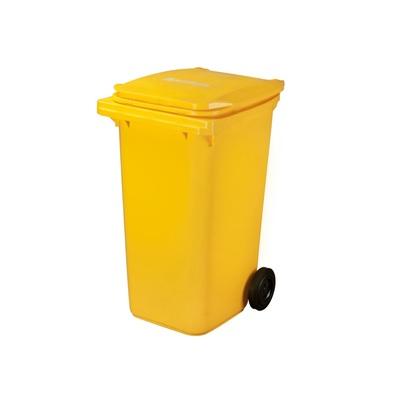 Plastová popelnice ELKOPLAST 240 l, žlutá C