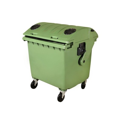 Plastový kontejner 1100 l na tříděný sběr