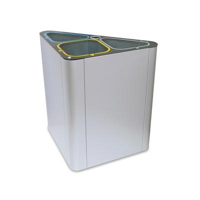 Odpadkový koš na tříděný odpad DUBLIN 150 l