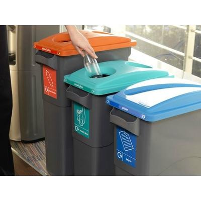 Odpadkový koš na tříděný odpad ECOSORT 60-85 l