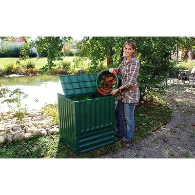 komposter ecoking 600 litru cerny