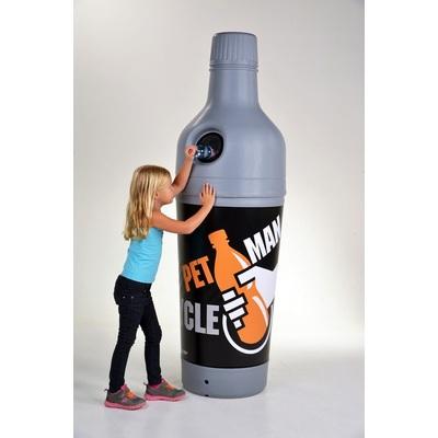 Odpadkový koš 210 l na PET láhve