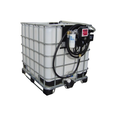 Nádrž na naftu s IBC kontejnerem, FDI 1000 12-24-230 V