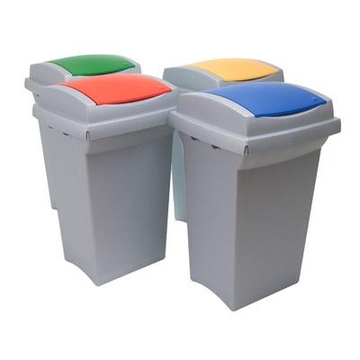 Odpadkový koš na tříděný odpad RECYCLING 50 l