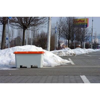 Nádoba na zimní posyp SBA 400l stohovací bez výsypného otvoru