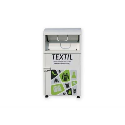Kontejner na recyklaci textilu