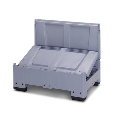 Skládací paletový box 1200x800x1000 (KLG 1208), 646 l