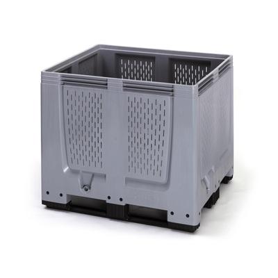 Paletový box 1200x1000x1000 perforovaný (MBO 1210), 900 l