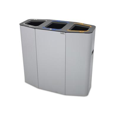 Odpadkový koš na tříděný odpad MUNICH 160 l (3 koše)