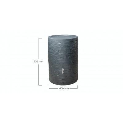 Zahradní nádrž na dešťovou vodu Muro 260 litrů