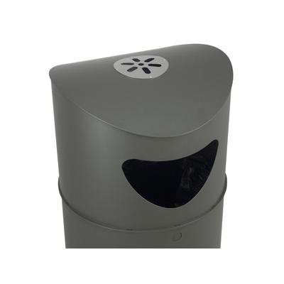 Odpadkový koš OSLO 75 l s popelníkem
