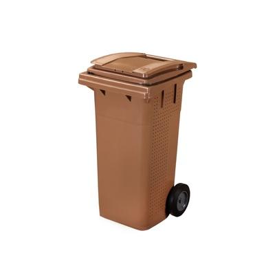 Plastová popelnice na BIO odpad ELKOPLAST 120 l