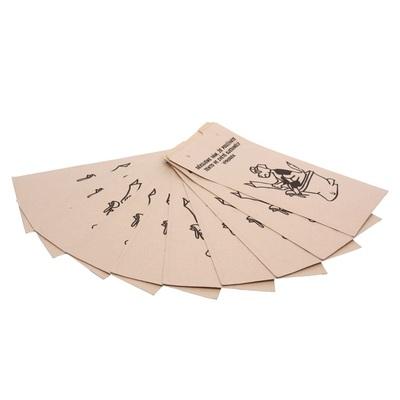 Papírové sáčky na psí exkrementy - sada 25 ks