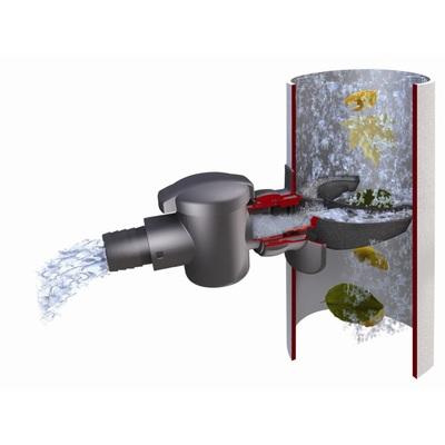 Sběrač dešťové vody s filtrem na rychlomontáž