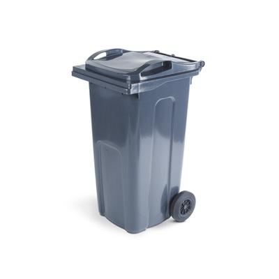 Plastová popelnice ELKOPLAST 240 l, černá ST