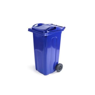 Plastová popelnice ELKOPLAST 240 l, modrá ST