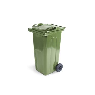 Plastová popelnice ELKOPLAST 240 l, zelená ST