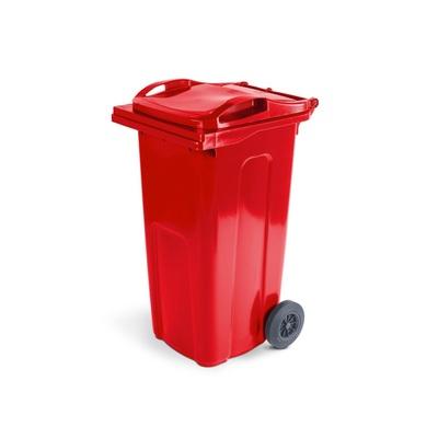 Plastová popelnice ELKOPLAST 240 l, červená ST