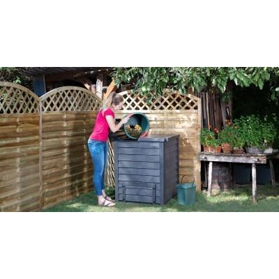 Kompostér imitace dřeva ThermoWood 600 litrů