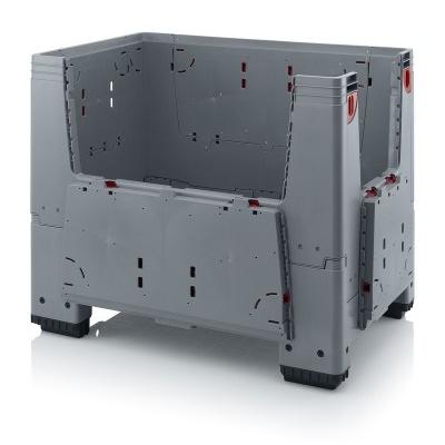 Paletový box 1200x800x1000 (KLK 1208), 650 l