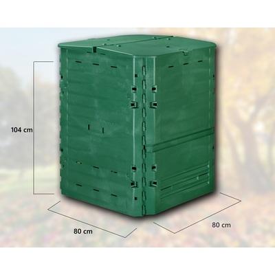 kompost r thermoking 600 l elkoplast cz. Black Bedroom Furniture Sets. Home Design Ideas