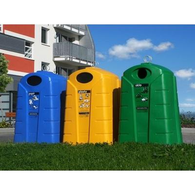 Polyethylenový kontejner na papír, typ P