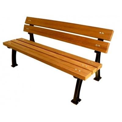 Litinová lavička Tupron